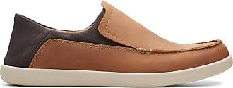 Clarks Mens Shoe Tan Combi Clarks Un Lisbon Lane Size 11.5