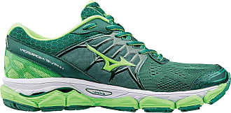 Mizuno Wave Horizon Mens Running Shoes - Green/White, 7 UK
