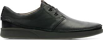 Clarks Mens Black Leather Clarks Oakland Lace Size 11.5