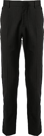 Cerruti high waisted straight fit trousers - Black