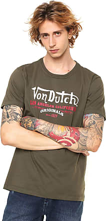 Von Dutch Camiseta Von Dutch Estampada Verde