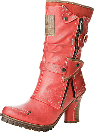 Mustang Stiefelette, Womens Boots, Red (5 Rot), 3.5 UK (36 EU)