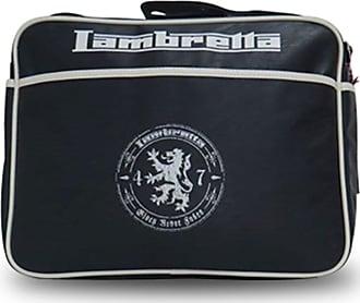 Lambretta BLACK MOTIF MESSENGER/SHOULDER BAG RRP £29.99