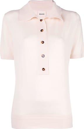 Khaite Camisa polo de tricô - Branco