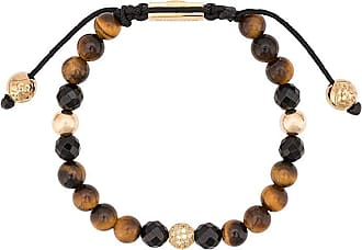 Nialaya faceted stone bracelet - Brown