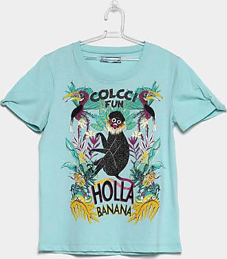 dc0d48679 Colcci Fun Camiseta Infantil Colcci Fun Estampada Macaco Feminina - Feminino