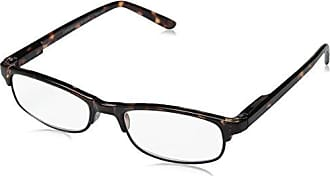 Peepers Mens Provocateur Tortoise Oval Reading Glasses,Silver,+4