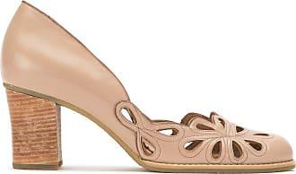 Sarah Chofakian cut out pumps - Color marrone