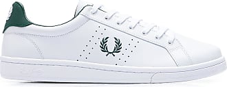 Fred Perry TÊNIS MASCULINO B721 LEATHER - BRANCO