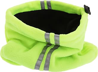 Universal Textiles Unisex Hi Vis Fleece Neckwarmer Snood With 3M Scotchlite Banding (One Size) (Neon Yellow)