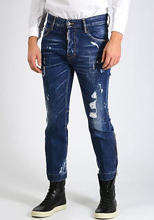 Dsquared2 18cm Distressed BIKER SKY Jeans size 46