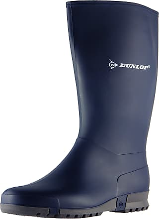 Dunlop Womens Sports Blue PVC Wellington Boots 6 UK