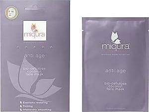 Miqura Pflege Premium Mask Collection Anti Age Bio-Cellulose Coconut Face Mask 1 Stk