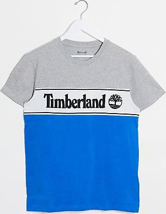 Timberland cut & sew logo t-shirt-Grey