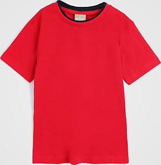 Milon Camiseta Milon Infantil Lisa Vermelha