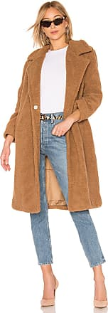 J.O.A. Teddy Coat in Brown