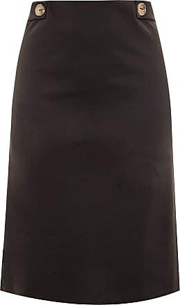 Yours Clothing Clothing Womens Plus Size Midi Skirt Size 30-32 Black