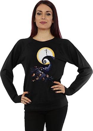 Disney Womens Nightmare Before Christmas Cemetery Sweatshirt XX-Large Black