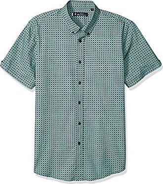 a056b7d58ca Ben Sherman Mens SS CHKRBRD SPT PRNT Shirt