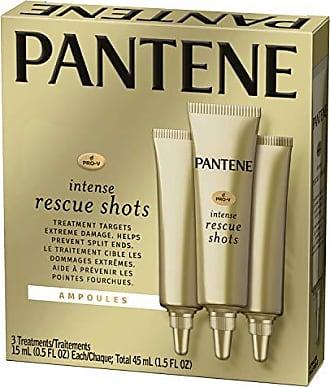 Pantene Pro-V Rescue Shots Hair Ampoule Rescue Shots Treatment, Intensive Repair of Damaged Hair, Pro-V, 0.5 fl oz (3 Count)