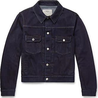 Berluti Slim-fit Selvedge Denim Jacket - Indigo