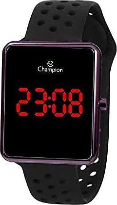 Champion Relógio Feminino Marrom Champion Digital Pulseira Silicone