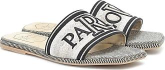 Roger Vivier Bestickte Pantoletten Paris Love