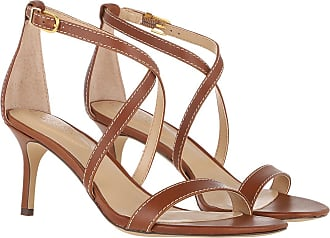 Lauren Ralph Lauren Sandals - Leaton Dress Sandals Deep Saddle Tan - brown - Sandals for ladies