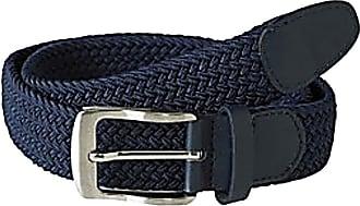 Duke London D555 Dani Stretch Braided Belt Navy-6XL