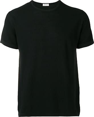 John Smedley knitted T-shirt - Preto