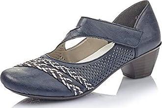 Rieker Mary Jane Leather Slingback Heel Shoes 43771 90