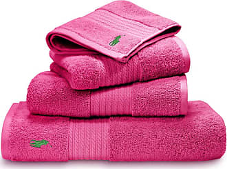 Ralph Lauren Home Player Towel - Pink - Bath Sheet