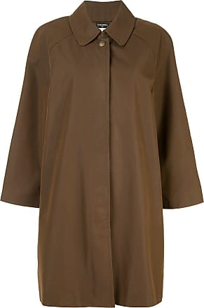 Chanel long sleeve coat - Brown