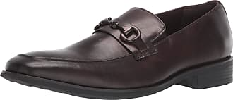 Kenneth Cole Reaction Mens Relay Flexible Bit Loafer, Brown, 11 UK
