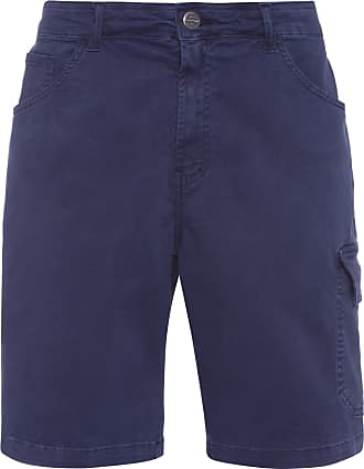 Ellus BERMUDA COLOR X FIT WORKER - AZUL