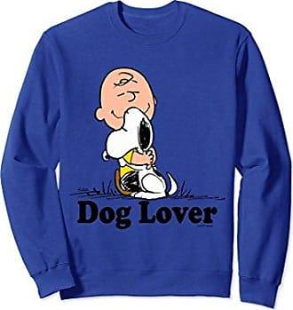 814592394 CafePress Unisex Snoopy Charlie Brown Dog Lover Sweatshirt Medium Royal Blue