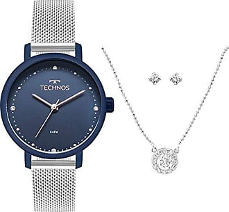 Technos Relógio Technos Elegance Kit com Gargantiilha Feminino 2035MMN/K5A