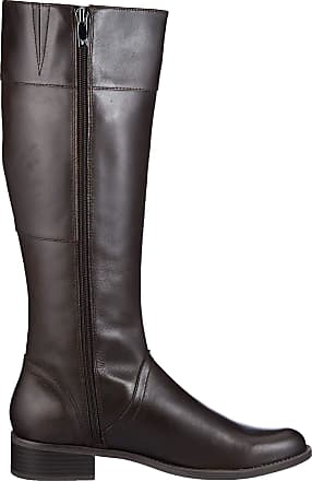 Caprice Womens Kania High Boots, Brown (Dk Brown 323), 4.5 UK