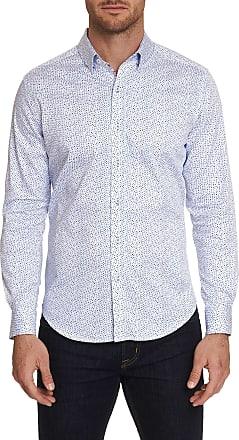 Robert Graham Mens Becan Sport Shirt In White Size: 2XL by Robert Graham