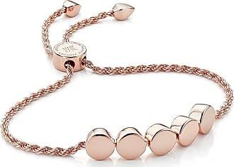 Monica Vinader Linear Bead Chain bracelet - GOLD