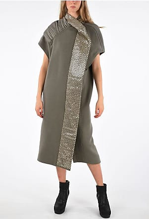 Rick Owens Sleeveless Coat DRKDST/WARM SILVER size 40