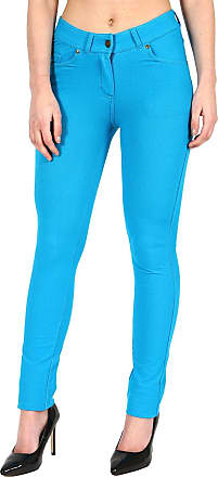 Parsa Fashions Ladies Skinny Fit Coloured Jeggings Womens Strechy Pants (UK 8-26)
