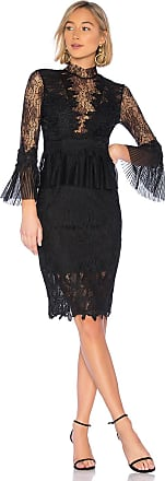 Bardot Frankie Lace Dress in Black
