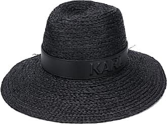 Karl Lagerfeld Chapéu de palha Karl - Preto