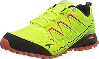 Kangaroos Mens K-Krail S Hiking Shoe, Lime Jet Black, 12.5 UK