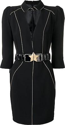 Elisabetta Franchi Vestido com cinto - Preto