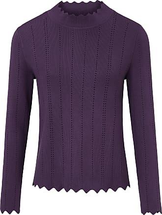 Uta Raasch Jumper stand-up collar Uta Raasch purple