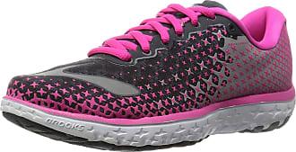 Brooks Pureflow 5 - 120207 1B 688, Womens Running Shoes, Grey (Anthracite/Pinkglow/Alloy 688), 5.5 UK (38 1/2 EU)