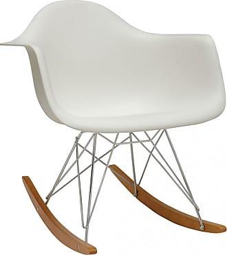 Vitra RAR Plastic Armchair Golden Maple Base