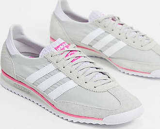 adidas Originals SL 72 sneaker in gray and pink